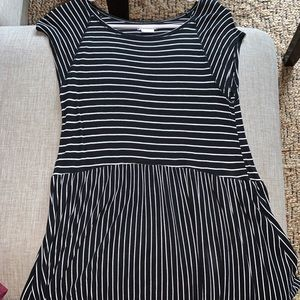 Urban outfitters black and white dress